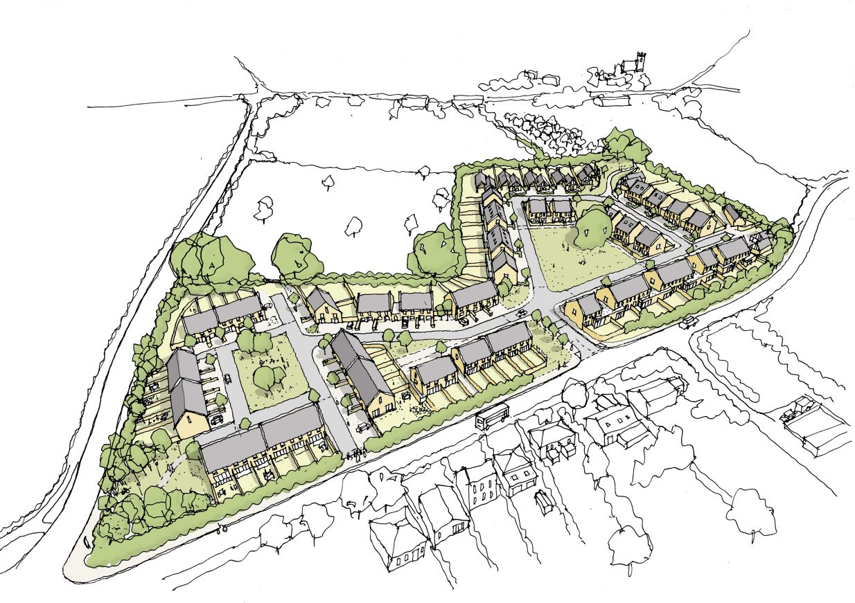 Backhouse submits plans for its Castle Cary development - Backhouse ...